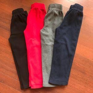 4 pair The children's place fleece pant